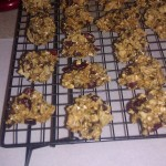 Oatmeal cherry dark chocolate potato chip cookies!