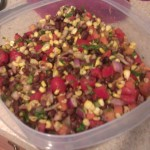Last week's lunch: Black Bean and Corn Salad