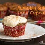 Skinnified Pumpkin Spice Latte Cupcakes via Ari's Menu