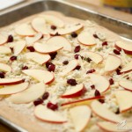 3 Cheese Apple Cranberry Pizza