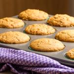Cinnamon Swirl Pumpkin Muffins via Ari's Menu
