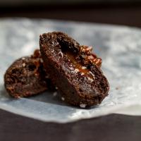 Salted Caramel Mocha Cookies