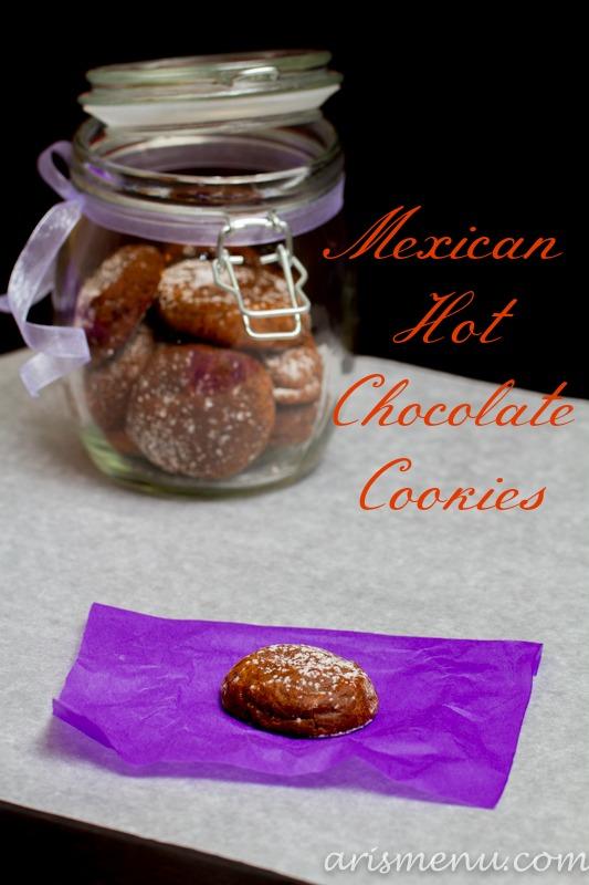 Mexican Hot Chocolate Cookies #vegan