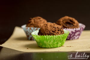 Dark Chocolate Sunflower Butter Truffles