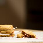 Truffle Stuffed Candy Cane Cookies