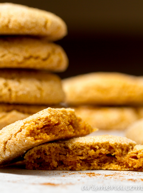 hChai Spiced Snickerdoodles #vegan