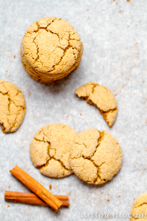 Chai Spiced Snickerdoodles #vegan