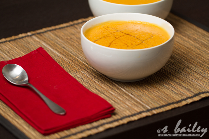 Sweet Potato Bisque #vegan #glutenfree