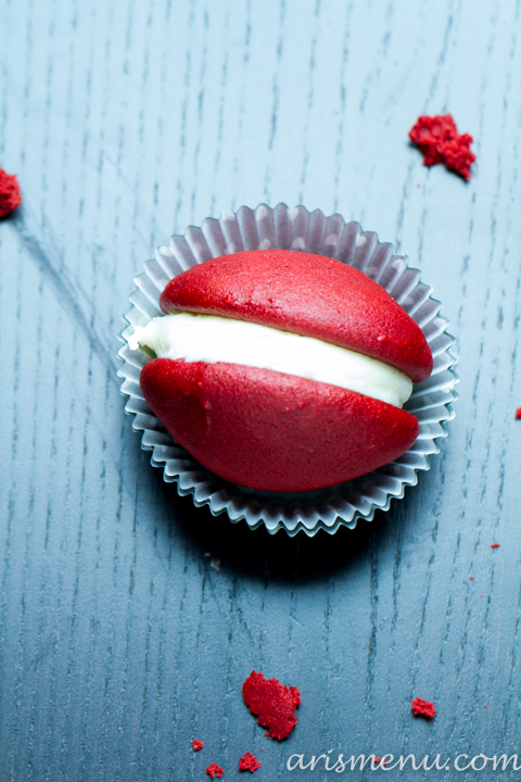 Red Velvet Whoopie Pies