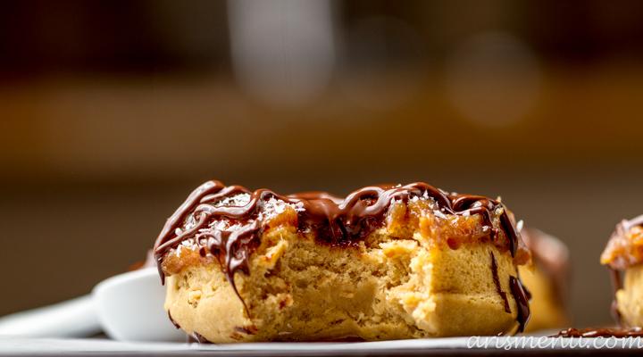 Samoas Donuts #vegan