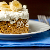 Skinnified Sunday: Banana Bread Tres Leches Cake