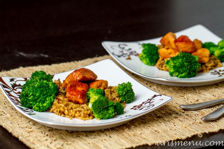 Healthy Crockpot Orange Chicken #glutenfree