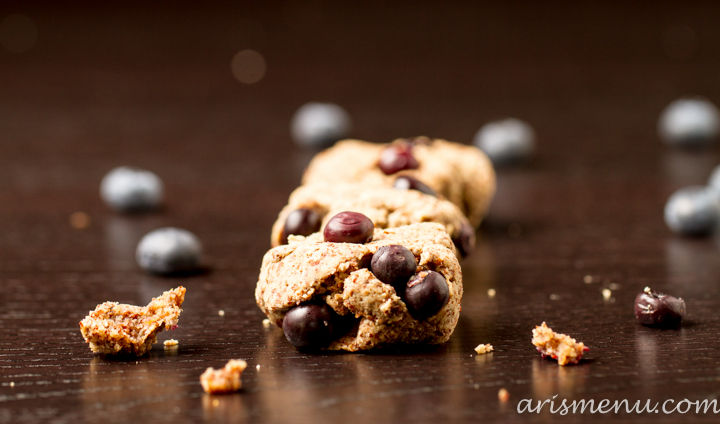 Blueberry Almond Meal Cookies #vegan #glutenfree