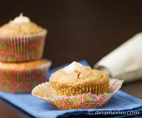 Banana Cream Cupcakes