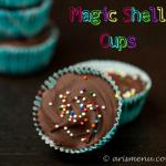 Magic Shell Cups #vegan #glutenfree