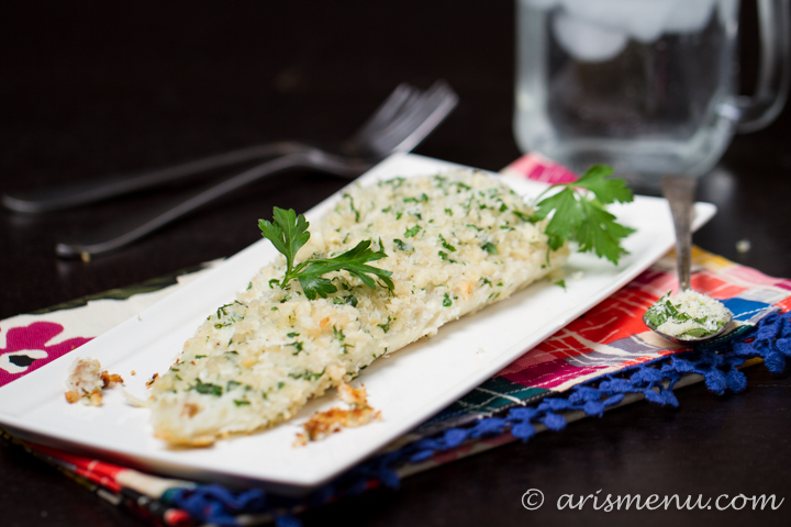 Macadamia Crusted Halibut #paleo