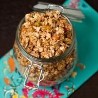 Vanilla Bean Coconut Pistachio Granola