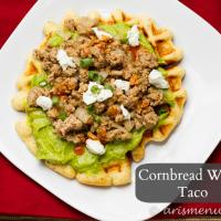 Cornbread Waffle Tacos {gluten-free}