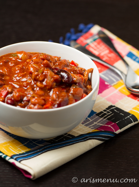 Crockpot Chili #glutenfree #dairyfree