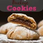 Inside Out Buckeye Cookies