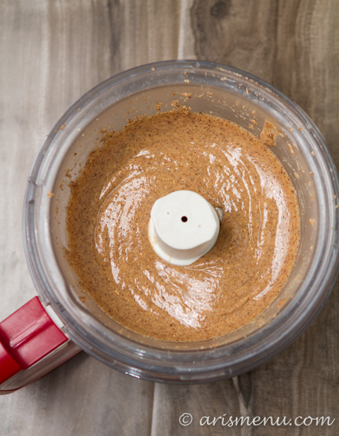 Caramel Macchiato Almond Butter: 1 ingredient & 10 minutes!