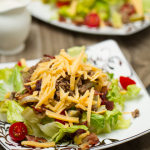 Bacon Cheeseburger Salad: A quick & healthy way get your burger fix!