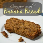 Cinnamon Swirl Banana Bread: An indulgent treat that is secretly healthy, vegan & gluten-free!