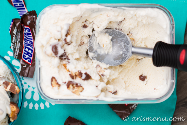 Snickers Ice Cream