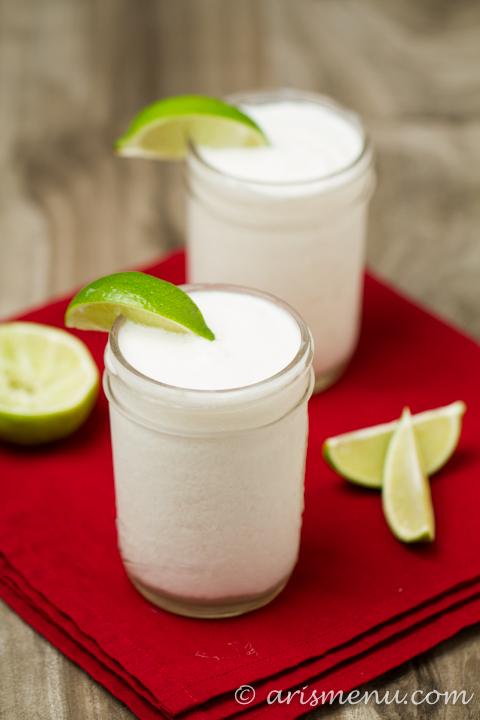 Creamy Frozen Coconut Margarita
