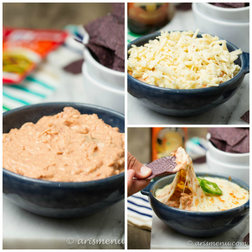 Crockpot Chicken Taco Dip
