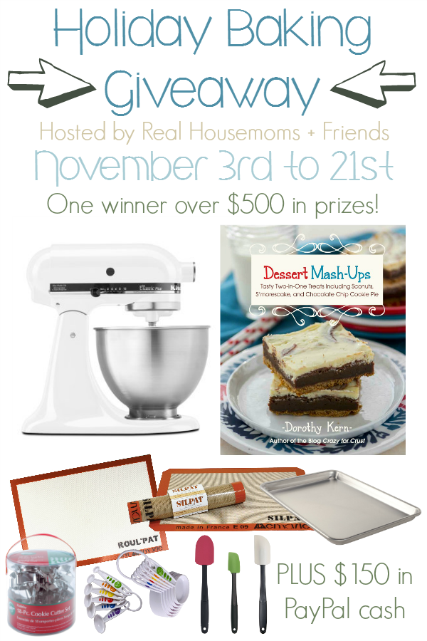 Holiday Baking Giveaway Vertical Graphic
