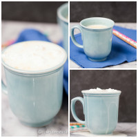 Vanilla Bean Hot White Chocolate